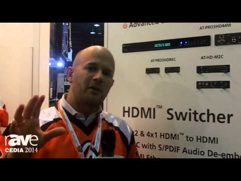 CEDIA 2014: Atlona Showcases AT-PRO3HD44M Matrix Solution