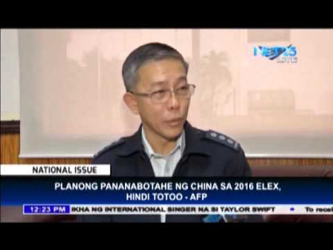 "AFP: ""No reports regarding China's plan to sabotage 2016 elections"""