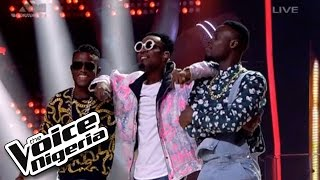 "#TeamPatoranking sings ""No Kissing Baby"" / Live Show / The Voice Nigeria 2016"