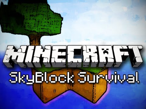 Minecraft: SkyBlock Survival Ep. 1 - Cobblestone Generator
