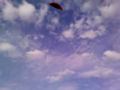 Carl Mason actually does fly a kite!!! Video