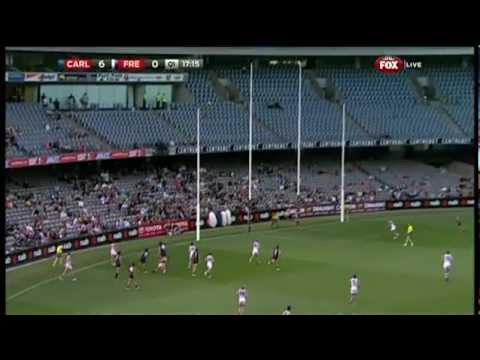 NAB Cup Highlights - Carlton V Fremantle - Smashpipe Sports Video