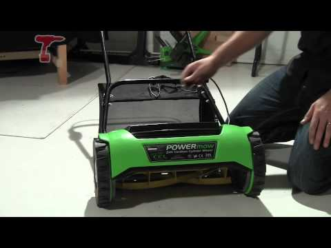 CEL CY1 POWERmow 24V Cordless Cylinder Lawnmower