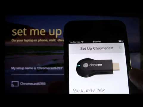 Chromecast - How to Setup (Part 2) From an iPhone. iPad. or iPod Touch