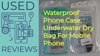 Waterproof Phone Case - Underwater Swimming Dry Bag For Mobile Phone