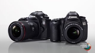 Introducing the Canon EOS 5DS and EOS 5DS R
