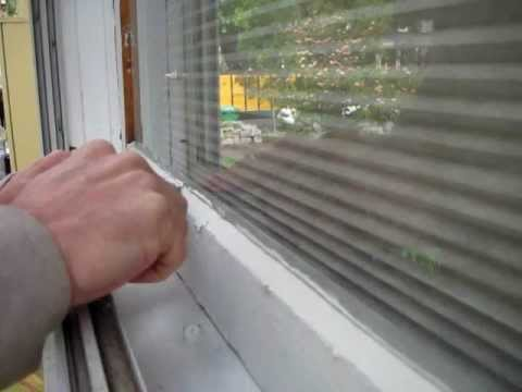 Broken Window Pane Replacement: Step #4, glazing