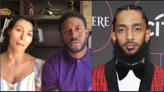 NFL Player & Wife Get DESTR0YED For Starting Gofundme Using Nipsey's Name