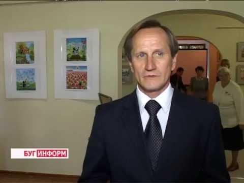 """2013-09-25 г. Брест Телекомпания  """"Буг-ТВ"""". «Рисуют дети»"""
