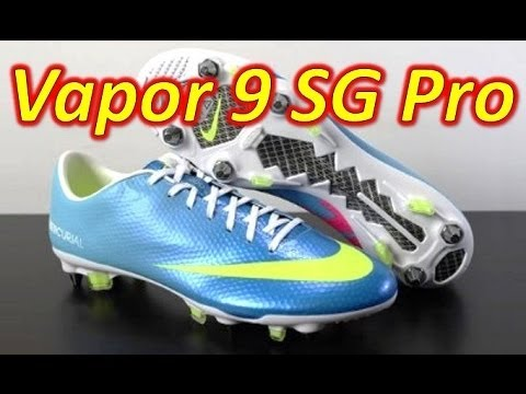 Nike Mercurial Vapor 9 IX SG-Pro Neptune Blue - Unboxing + On Feet