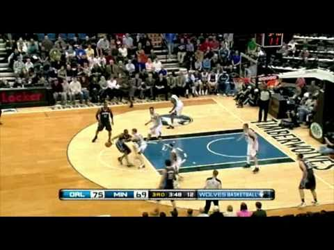 Corey Brewer 2010-11 Season Top 10 in Minnesota Timberwolves