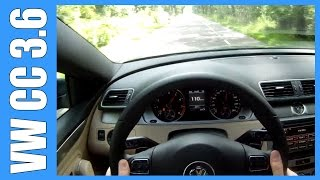 POV Volkswagen CC 3.6 V6 300 HP GREAT! OnBoard Acceleration & Sound
