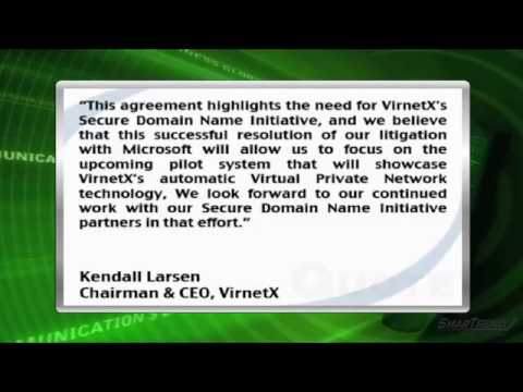 News Update: Microsoft Corp. and VirnetX Holding Corp. Reach Settlement in Patent Infringement Cases