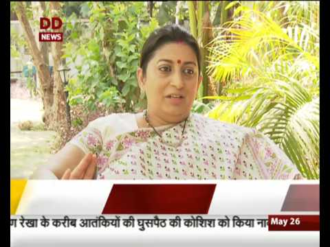 Do Saal, Modi Sarkar: Special interview with Union HRD Minister Smriti Irani