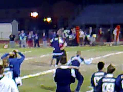 Truman & Kennedy High School Taylor, Michigan Senior Boy's cheerleader @ powder puff game Video