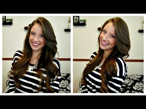 Soft Romantic Curls Hair Tutorial ♥