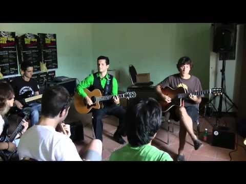 Frank Vignola w/Vinny Raniolo - Guitar Improvisation Lesson @ Eddie Lang Jazz Festival 2011