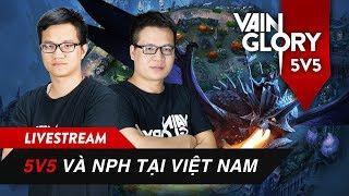 [HOT TALKSHOW] - 1001 câu hỏi hé lộ Vainglory 5v5 và NPH Gamota tại Việt Nam