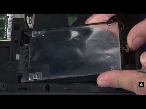 ThinkPad T440p Hard Disk Drive and Solid State Drive replacement