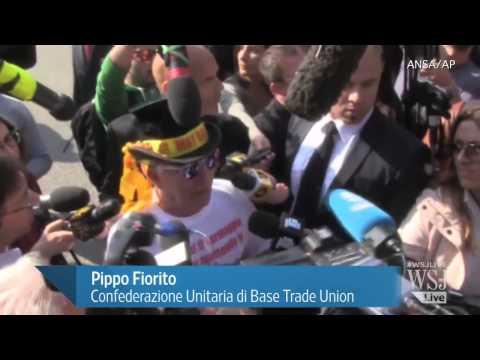 Silvio Berlusconi Begins Community Service Sentence
