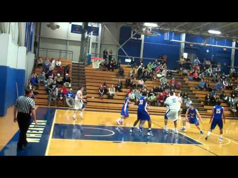Wheaton College men's basketball - vs Coast Guard 2-11-12