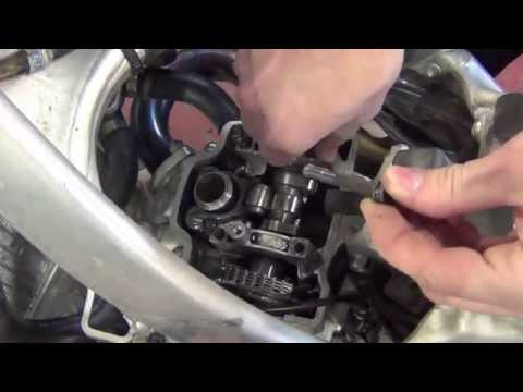 Dirt Bike - Valve Adjustment on 04 - 09 Honda CRF250R - Do it Properly!