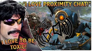 DrDisrespect LOVES PROXIMITY CHAT In Apex Legends! (Apex Legends Best Moments)