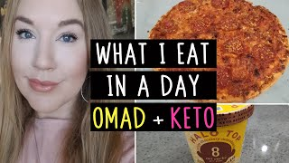 What I Eat In A Day - Keto Diet, OMAD, Intermittent Fasting