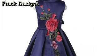 Frock Design-Latest Baby Frock-Patterns-Baby Girl