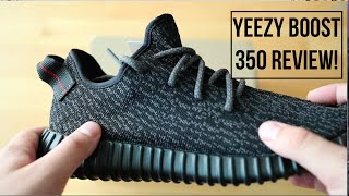 Kanye West Yeezy Boost 350 Black Review!