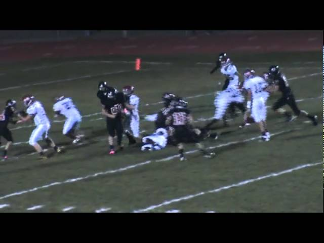10-21-11 - Chris Lee storms through the middle for an 8 yard TD (Brush 26, Strasburg 14)