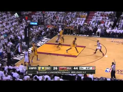 Indiana Pacers 92 x 117 Miami Heat  Game 6 Final NBA 2013/2014