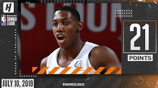 RJ Barrett Full Highlights Knicks vs Lakers (2019.07.10) Summer League - 21 Points!