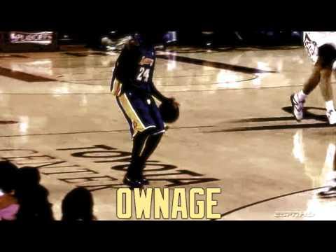 Kobe Bryant Owning Shane Battier