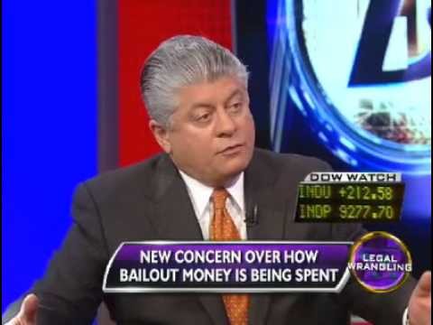 Corporate Welfare: $700 Billion Bailout is Unconstitutional - Judge Andrew Napolitano