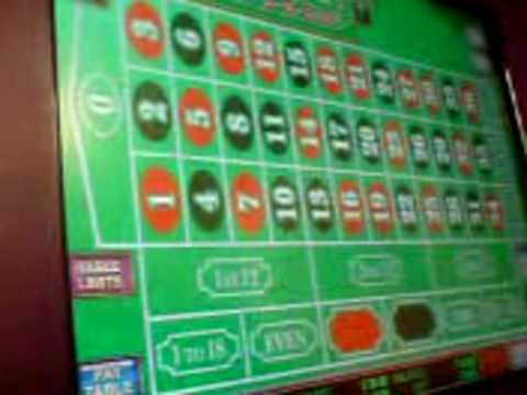 video roulette machine