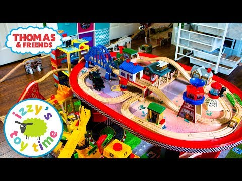 Thomas and Friends BIGGEST TRACK EVER! Fun Toy Trains for Kids! Thomas Train with Brio for Children