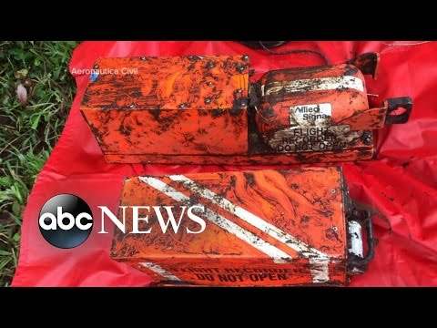 Voice Recorder Recovered From Deadly Plane Crash in Columbia