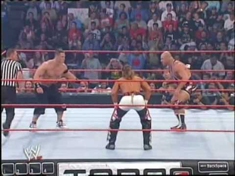 Shawn Michael Vs John Cena Vs Kurt Angle 1 3 video