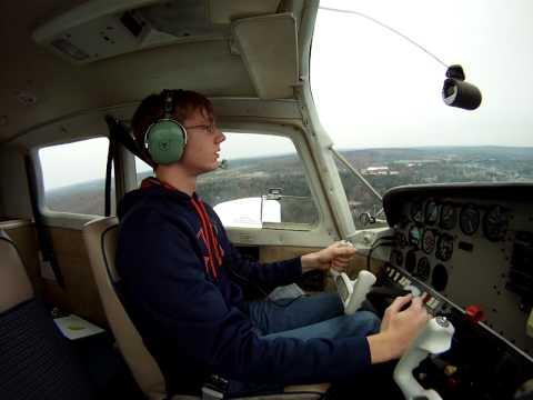 First solo flight in a Beechcraft sport