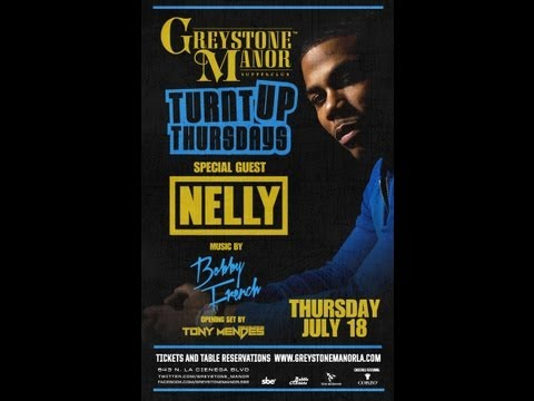 Turnt Up Thursdays with Nelly at Greystone Manor