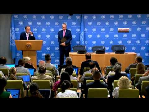 Gaza is on knife edge: UN Ban Ki Moon over Israel airstrikes