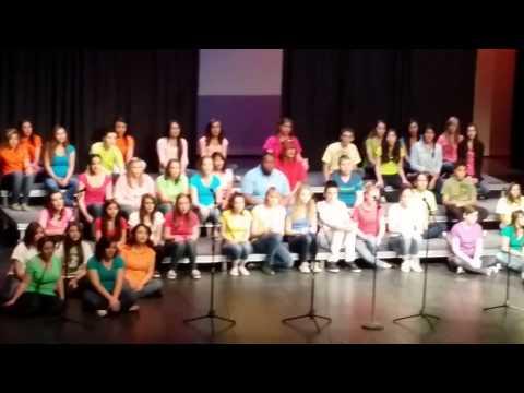The Volcano Vista High School Concert Choir!!!!