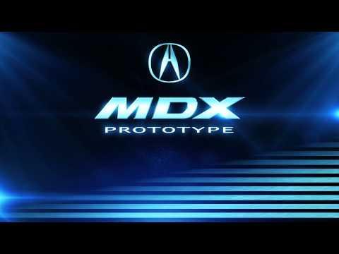 Acura MDX concept - промо
