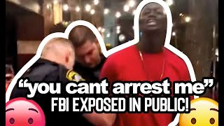 Undercover FBI agent wrongfully arrested in public