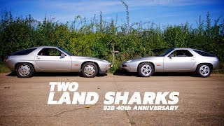 Two Land Sharks - Porsche 928 40th Anniversary