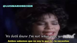 Whitney Houston I Will Always Love You Subtitulado Al Español Official Audio Hd Vevo