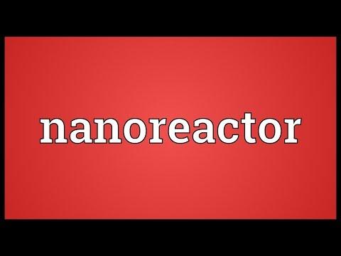 Header of nanoreactor