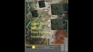 Fallout 76 | EASY Ballistic Fiber Farming Location! | Easy XP!