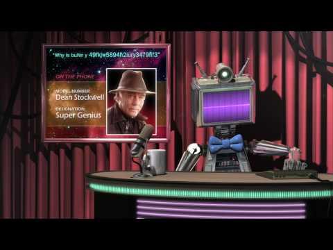 Back in Time - Robot Astronomy Talk Show (Linda Hamilton, Dean Stockwell, Ed Wasser)